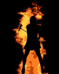 Flaming Pop Star