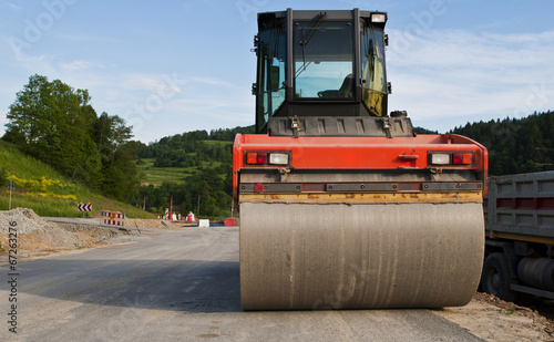 road construction machinery - 67263276
