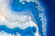 Blue stone lapis lazuli macro - 67263400