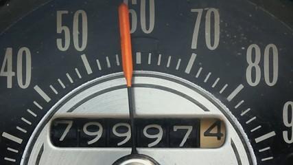 Old Speedometer Odometer Running Macro