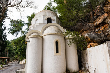 Greek orthodox church in Poros island