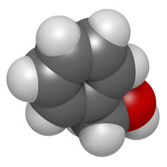 Benzyl alcohol solvent molecule. Used in manufacture of paint.