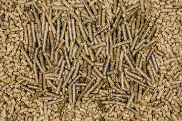 Two types of pellets background