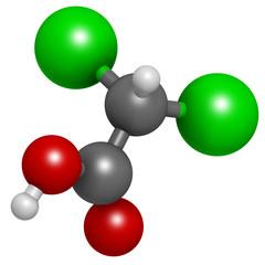 Dichloroacetic acid (DCA).