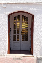 spanish front entrance door