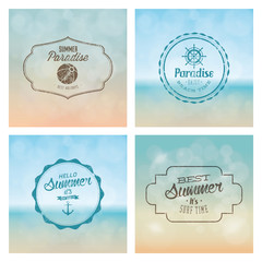 summer labels