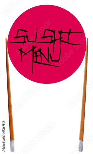 sushi menu, gastronomie japonaise - 67269813