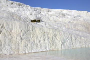 Pamukkale, Turkey in summer day