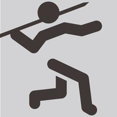 Javelin throw icon