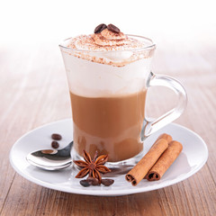 iced coffee float or milkshake