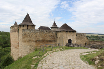 grand old fortress in Khotyn