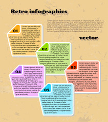 yellow infographics
