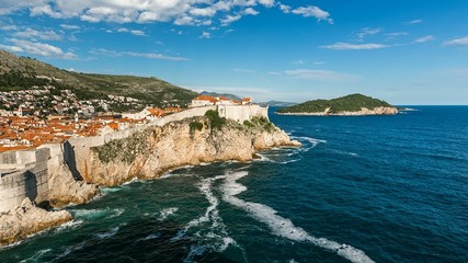 The Old Town of Dubrovnik, Time-lapse, Dalmatia, Croatia