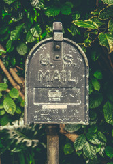 Vintage Hawaiian US Mail Box