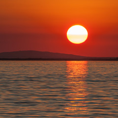 Abendsonne am See, Sommernacht