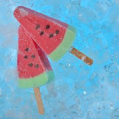 watermelon ice creams