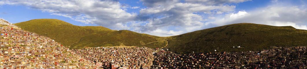 Serta Forbidden City in Tibet