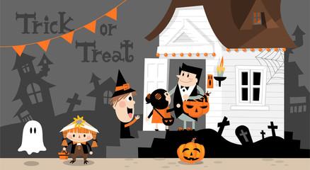 Halloween house B