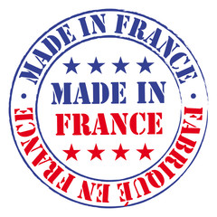 Made in France stamp.