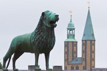 Skulptur, Kaiserplatz, Goslar