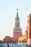 Spasskaya Tower of Moscow Kremlin chimes poster