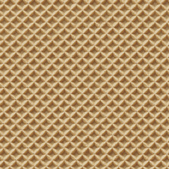 Seamless Detailed Waffle Texture Close-up