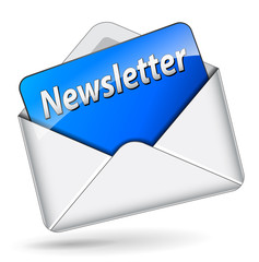 Vector newsletter icon