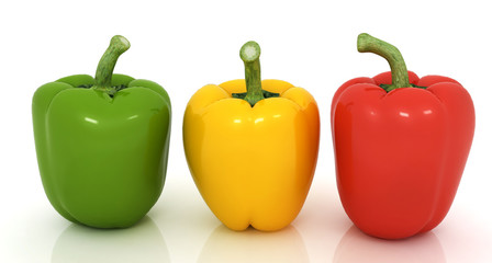 Bell peppers (bulgarian pepper)