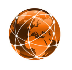 connect the world orange
