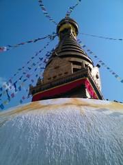 Tempel swayambunath Buddhismus Kathmandu