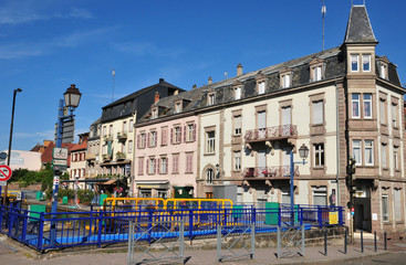 Bas Rhin, the picturesque city of Saverne in Alsace
