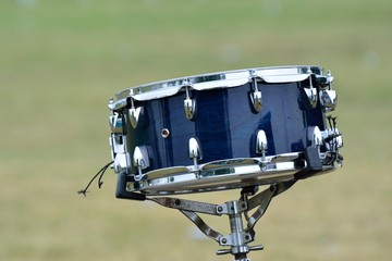 Snare drum outdoors