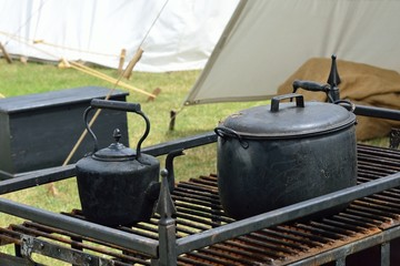 Old field kitchen