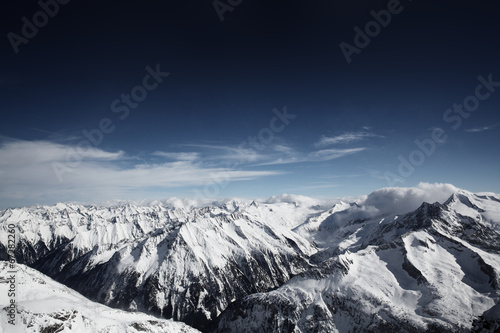 canvas print picture Alpen