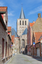 Bruges - St. Giles church (GIlliskerk)