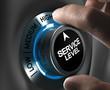Leinwandbild Motiv Customer Satisfaction