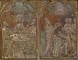 Bruges - Last supper of Jesus and the Abraham for Melchizedek