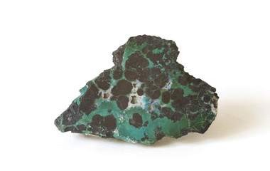 polished turquoise from Nevada, USA. 10cm across.