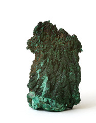 Malachite from the Democratic Republic of the Congo. 7cm high.