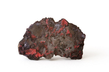Chalcotrichite (type of cuprite), Arizona, USA. 7.5cm across.