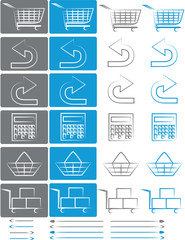 Small set of icons for e-shops vol.5