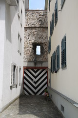 Ein altes Tor in Bregenz