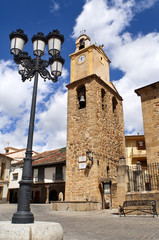 church tower of jerte,spain