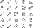 Carpenter tools icons - 67285483