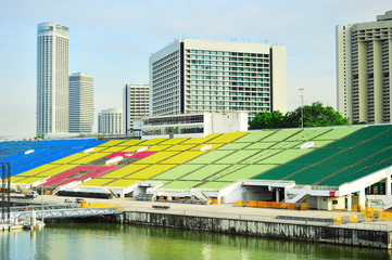 Marina Bay Floating Platform tribune
