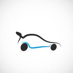 picto voiture de course
