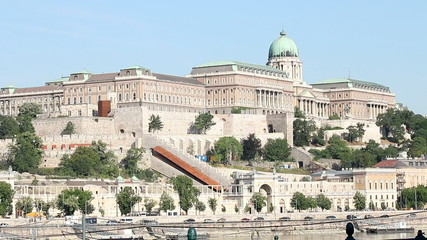 Buda castle historic landmark Hungary