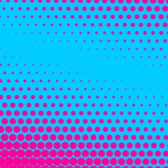 Abstract Halftone Background, vector illustration