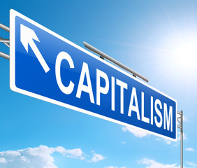 Capitalism concept.