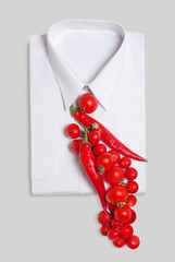 Edible necktie
